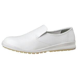 ハイグリップ作業靴 白25.5cm H100Cシロ-255【ミドリ安全】