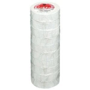 ビニールテープ NO200-19 19mm*10m 白 10巻 【ヤマト】