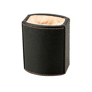 (同梱不可)茶谷産業 Elementum メガネスタンド 240-434 インテリア プレゼント 皮 ギフト 革 めがね おしゃれ ボア 上品 立て 黒