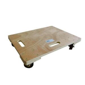 (同梱不可)木製平台車 60×30cm TC-6030