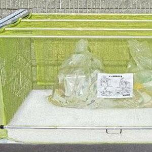 (代引き不可)(同梱不可)ダイケン ゴミ収集庫 クリーンストッカー ネットタイプ CKA-2012