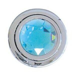 (同梱不可)ZAK ジュエリーホーンボタン TYPE2/ブルー ZAK68-004