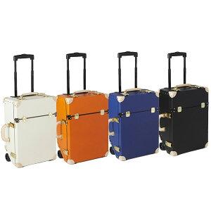(同梱不可)キャリーバッグ TIMEVOYAGER Trolley タイムボイジャー トロリー プレミアムII 33L 本革 かわいい 旅 女子 日本製 レトロ エレガント レザー 小旅行 スーツケース