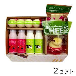 (代引き不可)(同梱不可)北海道 牧家 NEW乳製品詰め合わせ1×2セット