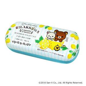 (同梱不可)メガネケース リラックマ フレッシュレモン WH 094020 めがねケース? ハードケース バネ式 かわいい おしゃれ サングラス 眼鏡ケース キャラクター