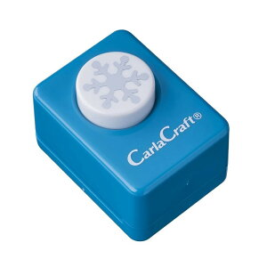 (同梱不可)Carla Craft(カーラクラフト) クラフトパンチ(小) ユキC/雪 CP-1N 4100771