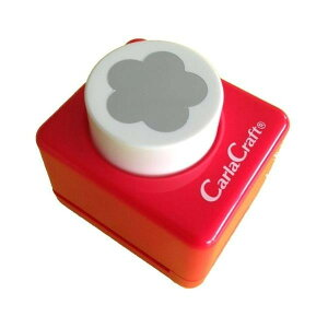 (同梱不可)Carla Craft(カーラクラフト) クラフトパンチ(大) ウメ/梅 CP-2 4100697 ステーショナリー 文房具 花 ペーパークラフト 型抜き スクラップブッキング かわいい 梅