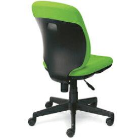 【チェア】事務用チェア プリセア ハイバック ブラックシェル 肘なし KC-K63SL 846-325<ブラック、ブルー>【プラス】 / オフィスチェア、ワークチェア、事務椅子 10P03Sep16