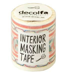 【マステ】インテリアマスキングテープ 50mm タイル/グリーン M3601 ニトムズ decolfa【柄/アイデア/幅広/カラフル/雑貨/ハンドメイド】 10P03Sep16