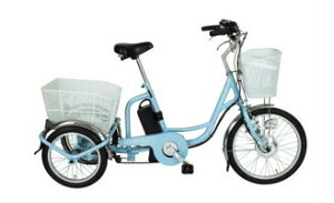 アシらくチャーリー 電動アシスト三輪自転車 MG-TRM20EB [ミムゴ MIMUGO] [激安自転車 通販][プレゼント] 送料無料