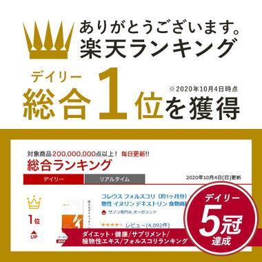 Rakutenデイリー総合ランキング1位獲得