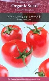 オーガニック・シード:トマト(アーミッシュペースト) 西洋野菜の種 料理用