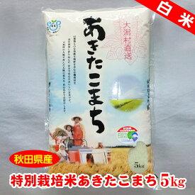 【秋田県産】特別栽培米あきたこまち白米5kg