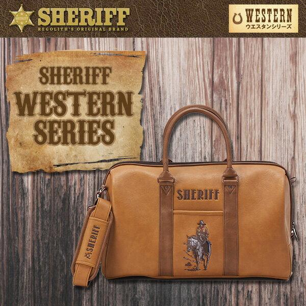 シェリフゴルフ (SHERIFF) ウエスタンシリーズ ボストンバッグ 限定生産 シェリフ【限定100個】