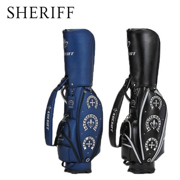 シェリフ アクセシリーズ カートキャディバッグ SHERIFF STANDARD カートCB【限定50本】