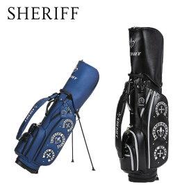 シェリフ アクセシリーズ スタンドキャディバッグ SAC-006 SHERIFF STANDARD スタンドCB【限定50本】