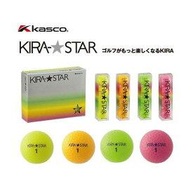 キャスコ (kasco) KIRA STAR キラ スター ゴルフボール 1ダース