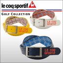 【60%OFF クリアランスセール】 ルコックゴルフ(Le coq sportif) タータンプリント リバーシブル ベルト レディース