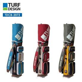 ターフデザイン キャディバッグ TDCB-2072 TURE DESIGN Caddie Bag 朝日ゴルフ