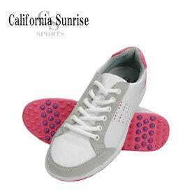カリフォルニア サンライズ (California Sunrise) スパイクレスシューズ Spikeless Shoes レディース 朝日ゴルフ