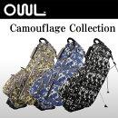 オウル(OUUL)スタンドキャディバッグカモフラージュ8.5型47インチCamouflage5WAYSTANDBAG【EVEN掲載商品】