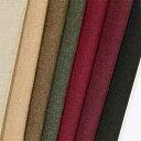 ウール【36500】【無地】【送料無料】【ウール生地】カラー全10色【50cm単位 切り売り】【ウールツイード】36500 ☆ジャケットやスカート パンツ カバン 帽子など小物に最適