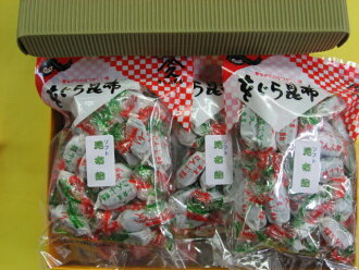 Snack kelp (konbu) soft seaweed candy 160 g x 8 set 10P27July09