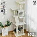 【SALE数量限定×700円OFF】キャットタワー 大型猫 キャットタワー おしゃれ スロープ 送料無料 爪とぎ おもちゃ ハウ…