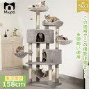 【SALE限定 8850】キャットタワー 大型猫 キャットタワー 据え置き おしゃれ 猫 タワー 送料無料 爪とぎ おもちゃ ハ…