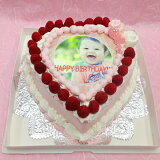 写真ケーキスイートハートケーキバースデーケーキお誕生日パーティー記念日サプライズ8号