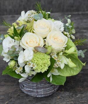花誕生日結婚祝いお礼歓送迎『ラ・セゾン』結婚記念日結婚祝い送別歓迎退職祝いお見舞いおまかせアレンジ送料無料誕生花母誕生日