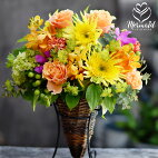 父の日デザイナーズアレンジメント誕生日送別会退職祝い歓送迎会卒業母の日ギフト結婚記念日結婚祝い花フラワーお見舞い開店祝い送料無料楽天ランキング1位母プレゼント