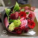 ギフトプレゼントにも 誕生日 バラ ローズ 『ピュアブーケ』花束 誕生日 フラワー 花 ギフト 送別 定年 退職 生花 ブーケ 結婚祝い 結…