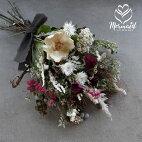 玄関花誕生日結婚祝いお礼歓送迎ドライフラワー「フルラージュ」ウエディングブライダルスワッグホワイトデー