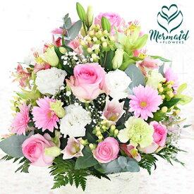 誕生日 送別 歓迎 退職祝い 結婚記念日 結婚祝い アレンジ 『夢の中』 花 ギフト 送料無料 母ギフト 祝い 父の日