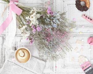 玄関花誕生日結婚祝いお礼歓送迎ドライフラワー「フォレット・ブーケ」ウエディングブライダルスワッグ
