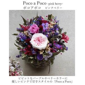 玄関花誕生日結婚祝いお礼歓送迎ドライフラワー「ポコアポコ」アレンジホワイトデー