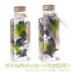 ボトルメッセージもOK!ハーバリウムHerbarium[植物標本]ヒーリングボトルプリザーブドフラワーインテリア誕生日祝結婚祝い自分へのご褒美に