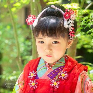 【三歳用】菊と紅葉の両飾りパッチンセット