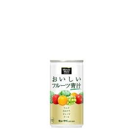 【送料無料】ミニッツメイドおいしいフルーツ青汁 190g缶1ケース 30本入 フルーツ果汁入りの飲みやすい青汁ドリンク(果汁100%相当、食物繊維配合)コカ・コーラ社製品初の青汁ドリンク