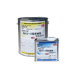 フローン塩ビシート防水面用プライマー 透明 16.5kgセット(A液15kg:B液1.5kg) 【送料無料】