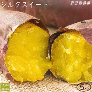 【予約】シルクスイート4.5kg 訳あり 送料無料 お試し ご家庭用 さつまいも サツマイモ(風袋込み5kg:内容量約4.5kg)