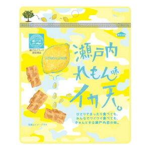 まるか食品 イカ天瀬戸内れもん味 25g(8×6) 【代引き・同梱不可】