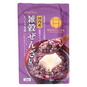 【代引き・同梱不可】雑穀ぜんざい 250g×16入 R20-026