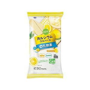 《中部薬品》 カルシウムウエハース+乳酸菌 瀬戸内レモン味 20枚入 【栄養機能食品】