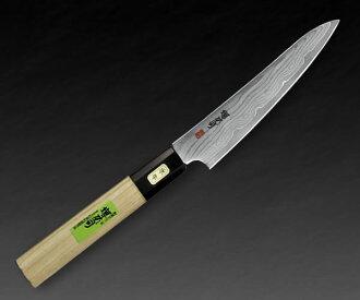 真嗣酒井剑 DS 日本刀片削皮刀 90 毫米日本刀大马士革