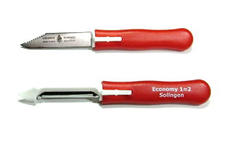 "I am usable on a knife to 1 2 Diogenes (Germany) Eco chisel peeler knife = red pattern ""skin! ""Immediate delivery!"