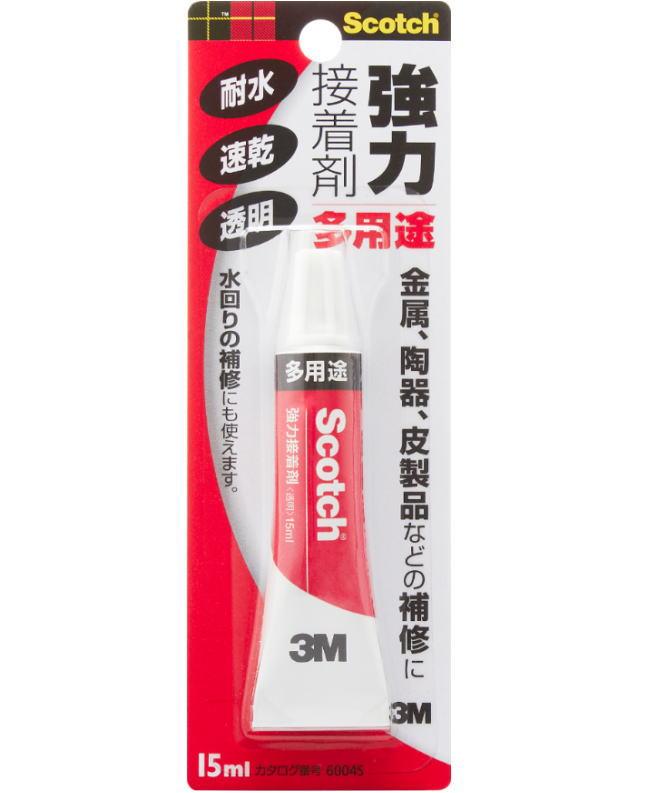 3M(スリーエム) 強力接着剤 多用途(6004S) 15ml