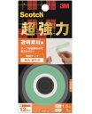 3M(スリーエム) 超強力両面テープ透明素材用 (KTD−12) 12×1.5m