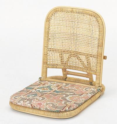 ラタン 籐 座椅子(クッション付き) S10【送料無料】【大川家具】【smtb-MS】【RCP】【KRU】【TPO】【KOU】【KRH】【SRT】【snp】